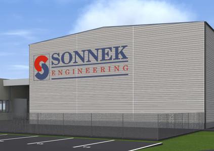 Sonnek Produktionshalle Ternitz